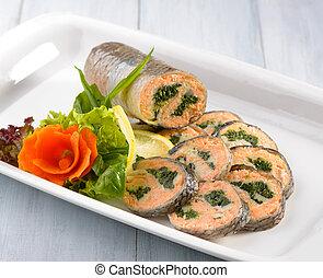 fish, imbottito