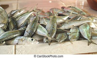 Fish in Asian market.