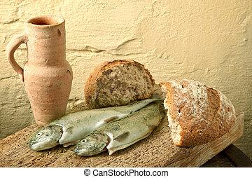 fish, közül, galilee