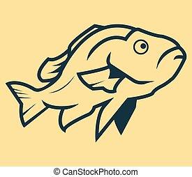 fish, lina sztuka