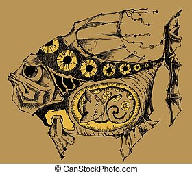 fish, magia