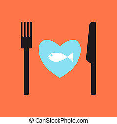 fish, menu., ristorante