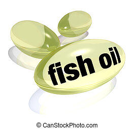 Fish Oil Capsules Omega-3 Fatty Acid Pills Preventing ...
