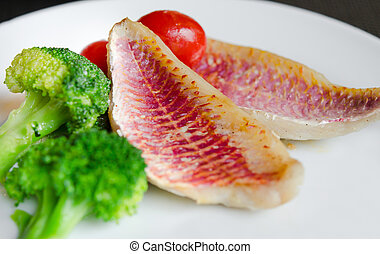 fish, plat