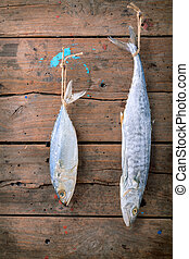 Fish preservation by drying