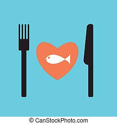 fish restaurant menu.