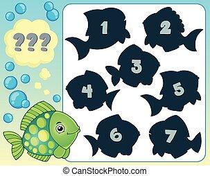 Fish riddle theme image 2