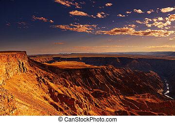 Fish River canyon, Namibia - Fish River canyon the second ...