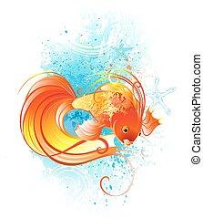 fish, rouges