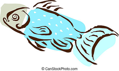 fish, Rysunek