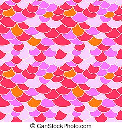 Fish scale background.