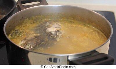 fish, soupe
