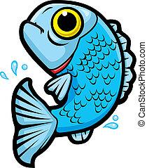 fish, springe