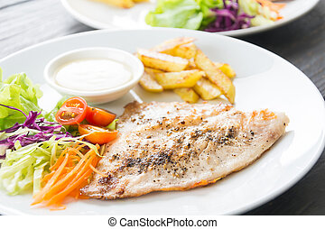 fish steak