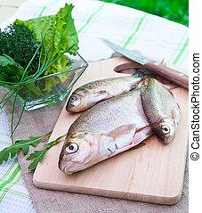 fish, surowy