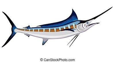 fish, svärd