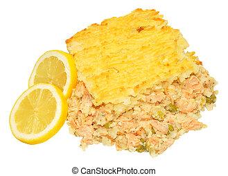 fish, tarte saumon