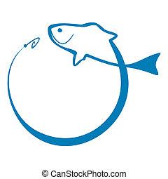 fish, tegn