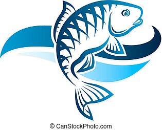 fish, vecteur