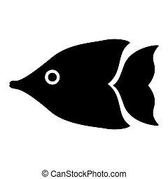 fish, wizerunek, ikona