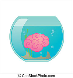 Fishbowl with a brain