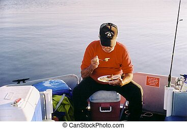 Fisher at Breakfast