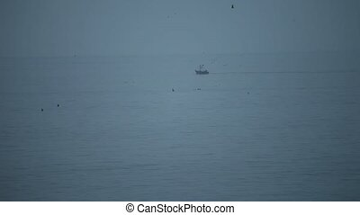 Fisher On Ocean