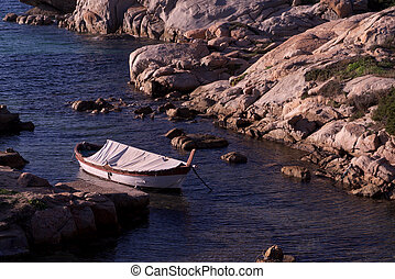 fisherman boat at rest