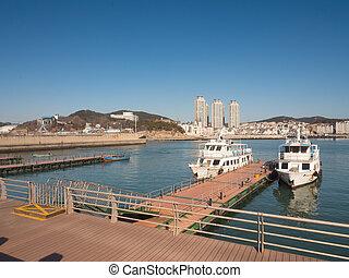 Fisherman Wharf (Yu Ren Ma Tou). Dalian, China.