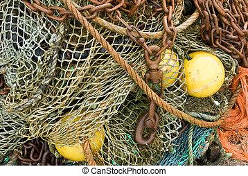 Fisherman\\\'s debris