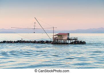 Fisherman's Net along the sea