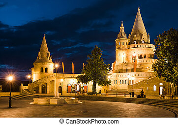 Fishermen Bastion, Budapest, Hungary - Fishermen Bastion...