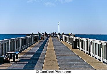 Fishermen on the Pier