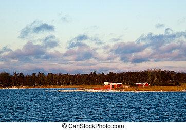 Fishermen´s cabins