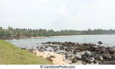 Fishermen stilts in Sri Lanka
