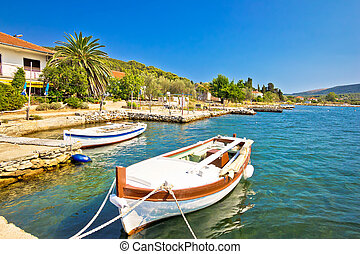 Fishermen village of Brbinj on Dugi Otok island, Dalmatia, Croatia