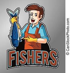 Fishers mascot