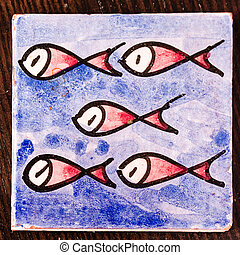 fishes on the table