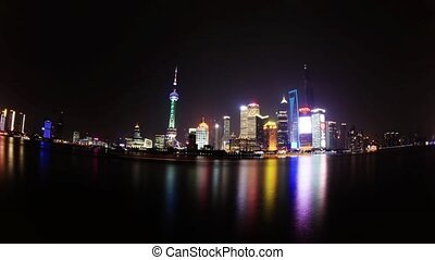 Fisheye view of Shanghai