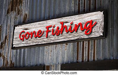 fishing., allé