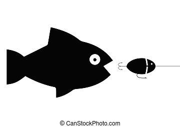Fishing big fish catching wobblers