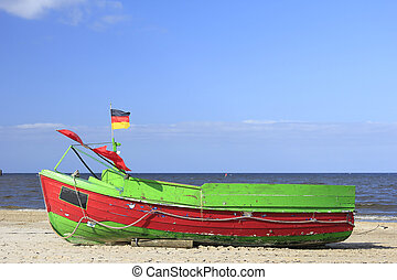 Fishing boat, Baltic Sea, Germany
