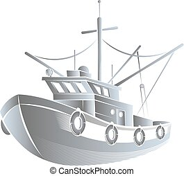 Fishing boat concept