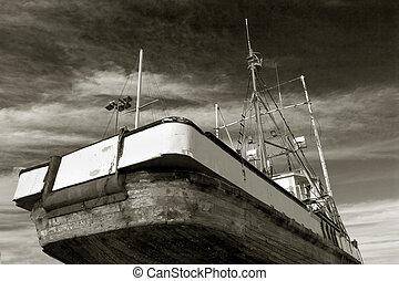 Fishing Boat, Dry Dock