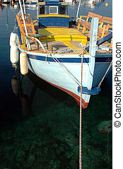 FISHING BOAT - fishing boat in the harbor