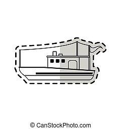 fishing boat icon image