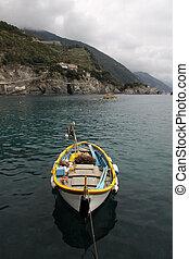 Fishing Boat in Monterosso