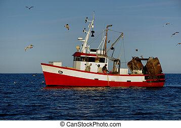 Fishing boat - Norwegian fishing boat