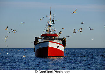 Fishing boat - Norwegian fishing boat