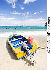 fishing boat, Sauteurs Bay, Grenada